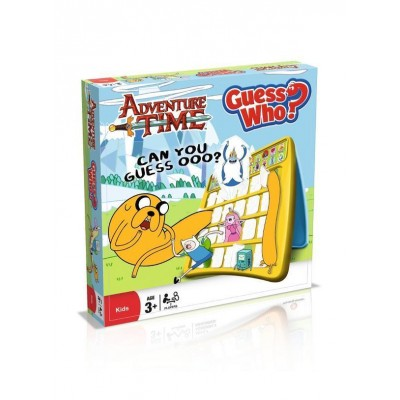 ADVENTURE TIME GUESS WHO GAME