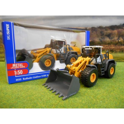 SIKU 1:50 LIEBHERR R580 2PLUS2 WHEEL LOADER