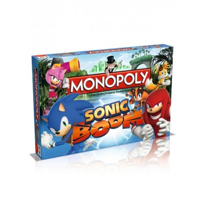 MONOPOLY - SONIC THE HEDGEHOG BOOM BOARD GAME