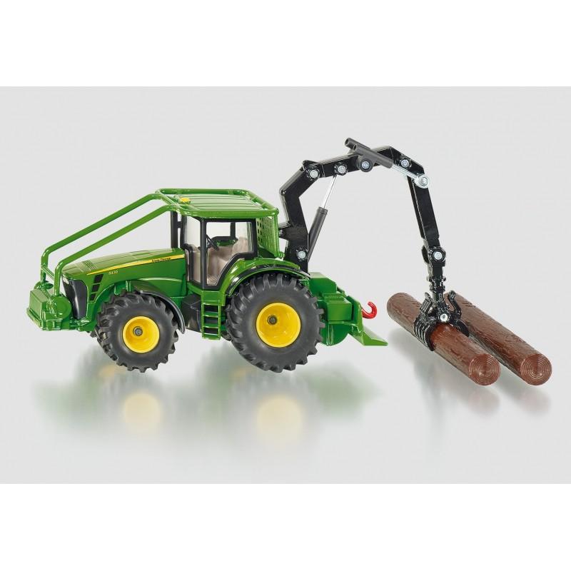 SIKU FARM 1:50 JOHN DEERE FORESTRY TRACTOR