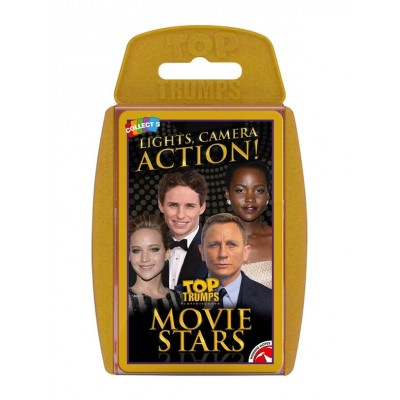 TOP TRUMPS - MOVIE STARS CARD GAME