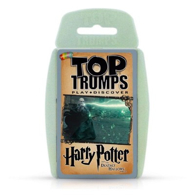 TOP TRUMPS - HARRY POTTER and the DEATHLY HALLOWS PART 2 CARD GAME