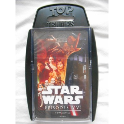 TOP TRUMPS - STAR WARS EPISODES 4 - 6 CARD GAME
