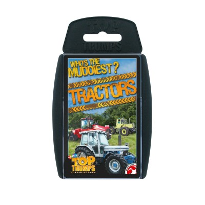 TOP TRUMPS - TRACTORS 'WHO'S THE MUDDIEST' CARD GAME