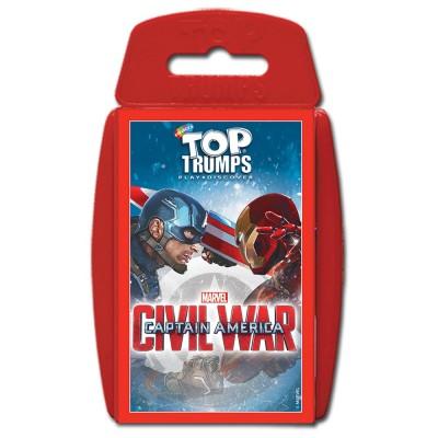 TOP TRUMPS - CAPTAIN AMERICA CIVIL WAR CARD GAME