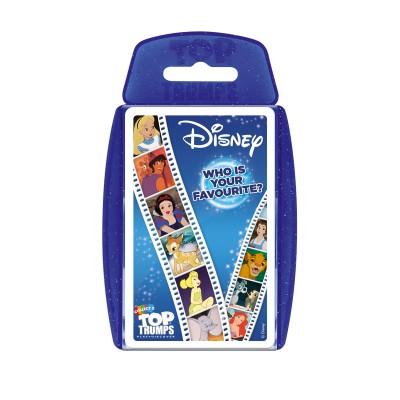 TOP TRUMPS - DISNEY CLASSICS CARD GAME