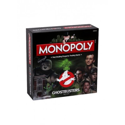 MONOPOLY - GHOSTBUSTERS (RETRO) COLLECTORS EDITION BOARD GAME