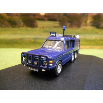 OXFORD 1:76 6 WHEEL RANGE ROVER TACR2 QUEENS FLIGHT FIRE APPLIANCE